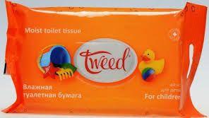 moist tissue