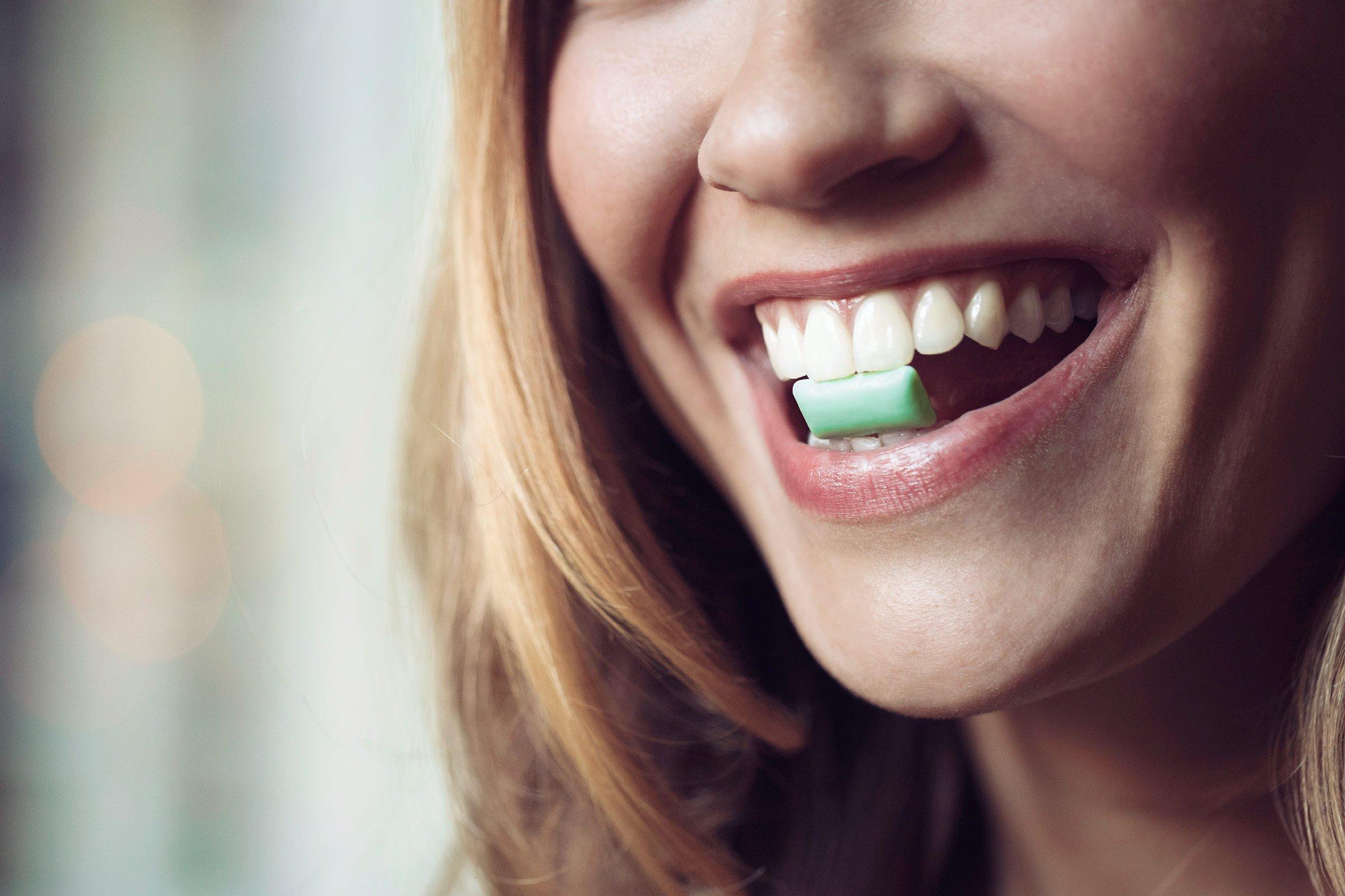 Жевательная резинка как средство гигиены полости  рта