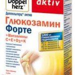 Доппельгерц Актив Глюкозамин форте + витамины C + E + D3 + K
