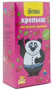 Чай детский травяной «Фитоша» №6 «Крепыш»