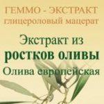 Олива европейская геммо-экстракт