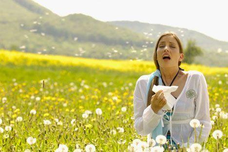 Натуральные средства от сезонной аллергии